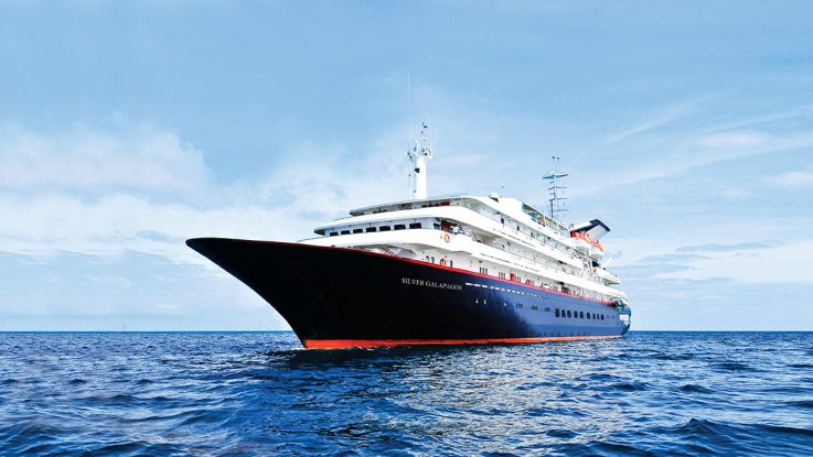 Die Silver Galapagos. Foto: Silversea Cruises