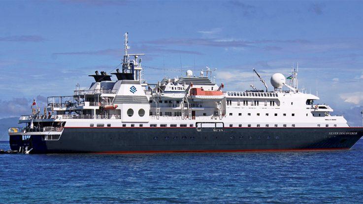 Die Silver Discoverer. Foto: Silversea Cruises