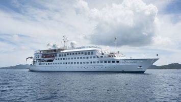 Die Crystal Esprit. Foto: Crystal Cruises
