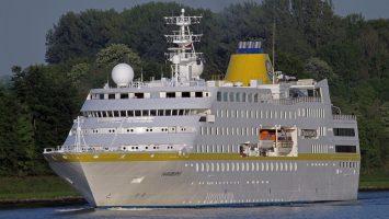 Die MS Hamburg. Foto: PLANTOURS-Kreuzfahrten