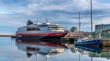 Die MS Richard With. Foto_ Hurtigruten AS