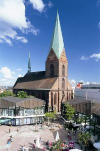 Die Nikolaikirche in Kiel. Foto: Kiel-Marketing
