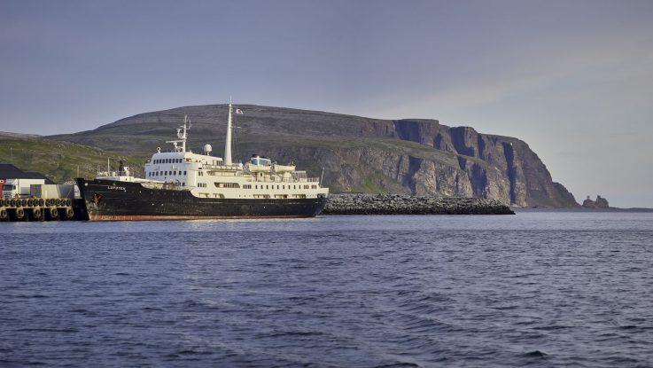 Die MS Lofoten. Foto: Hurtigruten AS/ØRjan Bertelsen