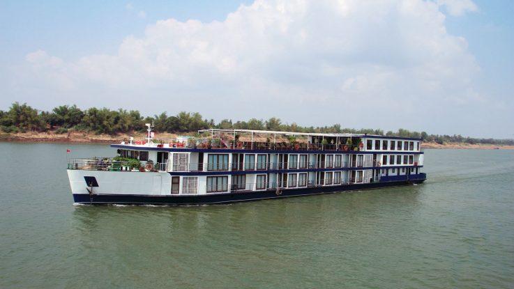 Die MS Mekong Prestige II. Foto: 1AVista Reisen