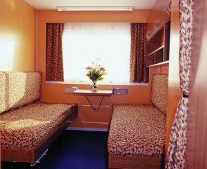 Eine der Kabinen an Bord. Foto: 1AVista Reisen