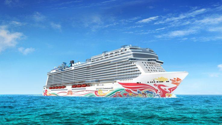 Die Norwegian Joy ist erst 2017 in Dienst gestellt wurden und gleich in die Top 10 eingestiegen. Foto: Norwegian Cruise Line