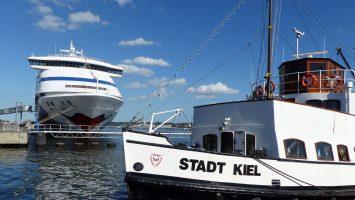 Die AIDAvita machte den Abschuss von Kiels Rekordsaison. Foto: Seehafen Kiel