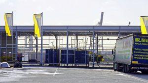 Die Abbauarbeiten am Terminal 2 sind in vollem Gange. Foto: lenthe/touristik-foto.de