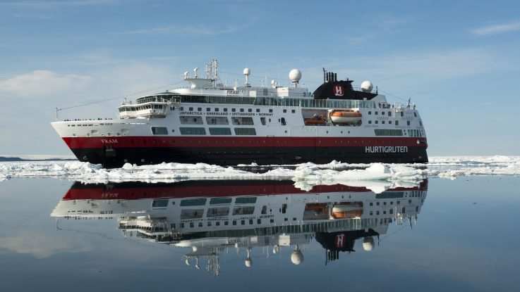 Die MS Fram. Foto: Hurtigruten AS/