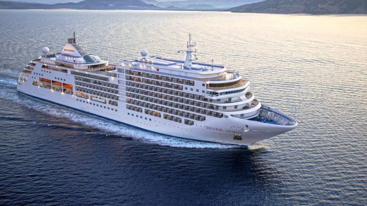 Die Silver Spirit. Foto: Silversea Cruises