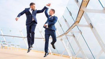 Jetzt bewerben und eine Traum-Rainbow-Hochzeit gewinnen. Foto: TUI Cruises