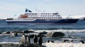Entspannte Expeditionen mit dem Neubau Hondius. Foto: Oceanwide Expeditions