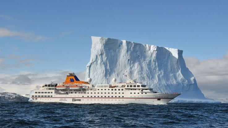 Die MS Hanseatic. Foto: Hapag Lloyd Cruises