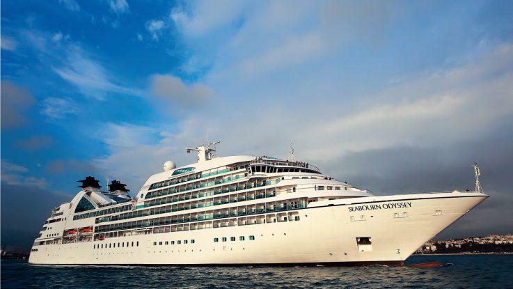 Die Seabourn Odyssey. Foto: Seabourn Cruise Line