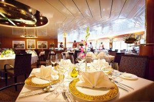Das Marco Polo Restaurant. Foto: Hapag Lloyd Cruises