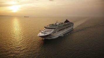 Die Oceana. Foto: P&O Cruises