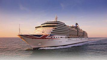 Die Arcadia. Foto: P&O Cruises