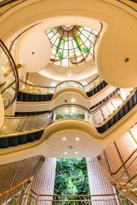 Das Atrium. Foto: P&O Cruises