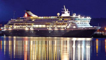 Die Balmoral. Foto: Fred Olsen Cruise Line