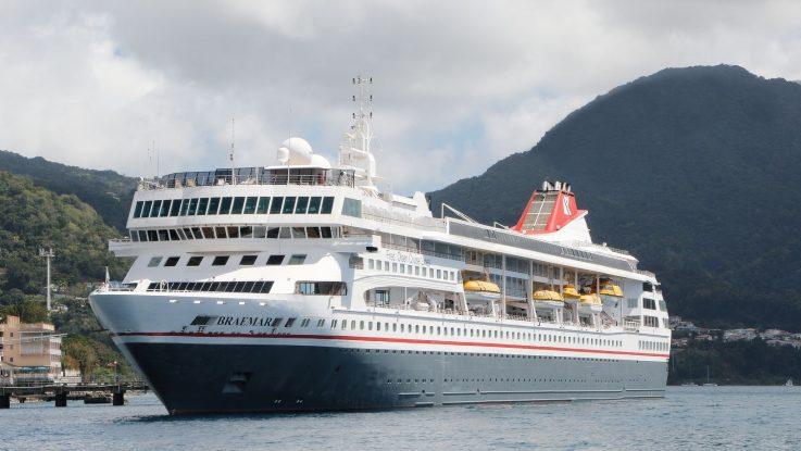 Die Braemar. Foto: Fred Olsen Cruise Line