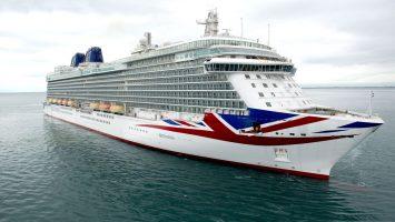 Die Britannia. Foto: P&O Cruises