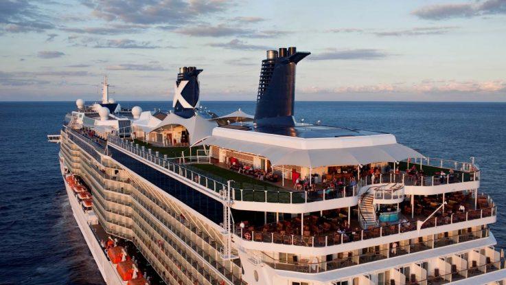 Die Celebrity Equinox (Symbolbild Solstice Klasse). Foto: Celebrity Cruises