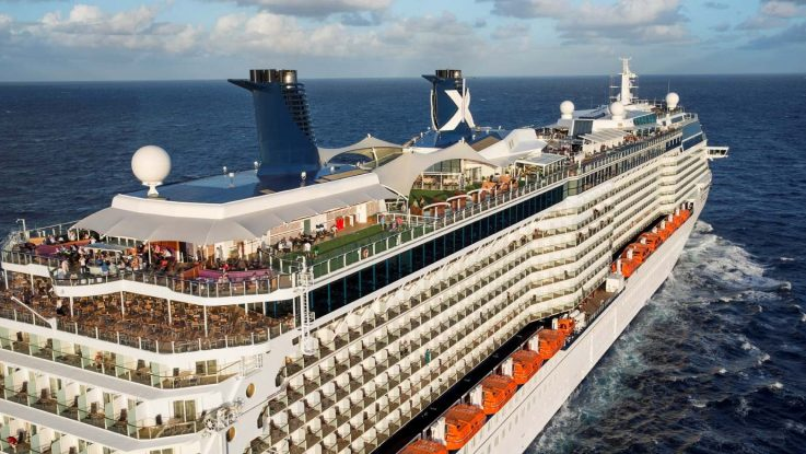Die Celebrity Reflection. (Symbolbild Solstice Klasse). Foto: Celebrity Cruises