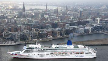 Die Aurora. Foto: P&O Cruises