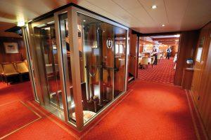 Auf Flusslinern eher selten, ein Fahrstuhl findet ihr an Bord. Foto: plantours & Partner GmbH