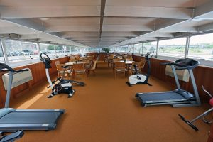 Der Fitnessbereich. Foto: plantours & Partner GmbH