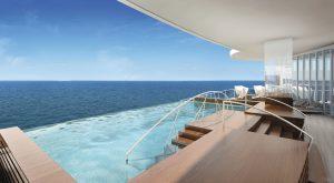 Der Spa Infinity Pool. Foto: Regent Seven Seas Cruises