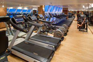 Der Fitness Bereich. Foto: Seabourn Cruise Line