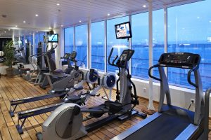 Fitness mit tollen Ausblick. Foto: Fred Olsen Cruise Line