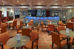 Die Boudicca Lido Lounge. Foto: Fred Olsen Cruise Line