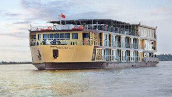 Die Mekong Prestige II. Foto: plantours & Partner GmbH
