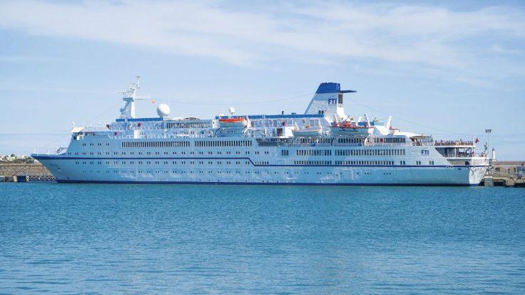 Die MS Berlin. Foto: FTI Cruises