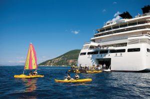 Die Marina. Foto: Seabourn Cruise Line