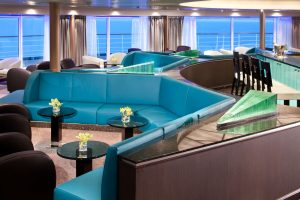 Die Observation Lounge. Foto: Seabourn Cruise Line