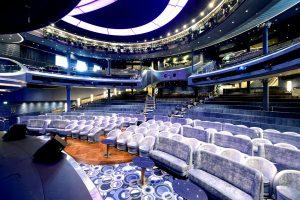 Das große Palladium Theater. Foto: P&O Cruises
