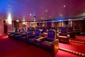 Das Kino an Bord. Foto: P&O Cruises