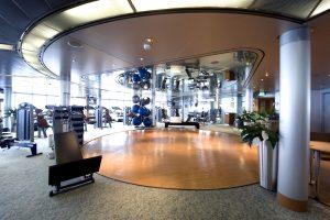 Das Fitnesscenter. Foto: P&O Cruises
