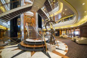 Das Atrium. Foto: Regent Seven Seas Cruises