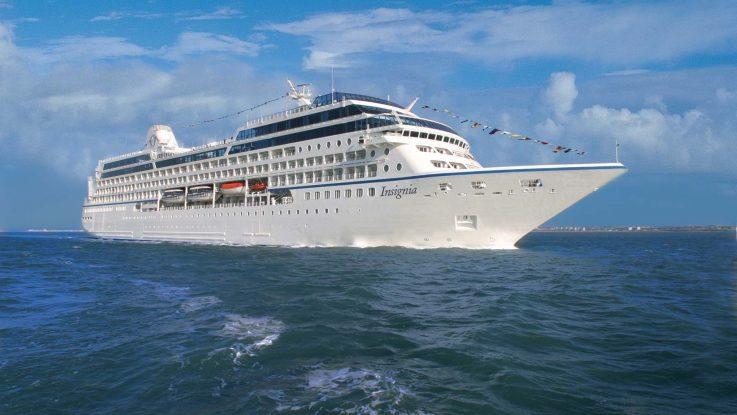 Die MS Insignia. Foto: Oceania Cruises