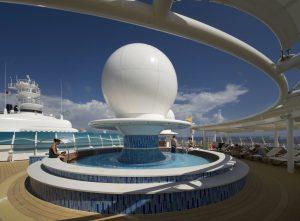 Auf dem Außendeck. Foto: Disney Cruise Line