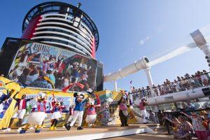 Beliebte Shows finden auch an Bord statt. Foto: Disney Cruise Line/Matt Stroshane