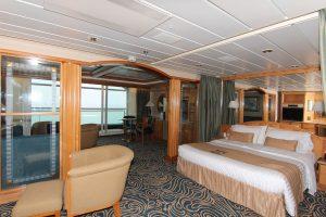 Eine Junior Suite. Foto: Royal Caribbean International