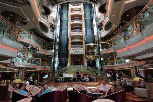 An Bord der Rhapsody of the Seas. Foto: Royal Caribbean International