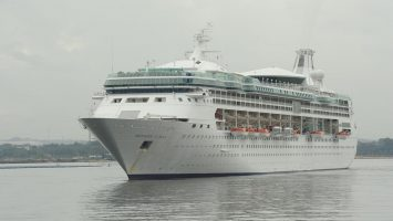 Die Rhapsody of the Seas. Foto: Royal Caribbean International