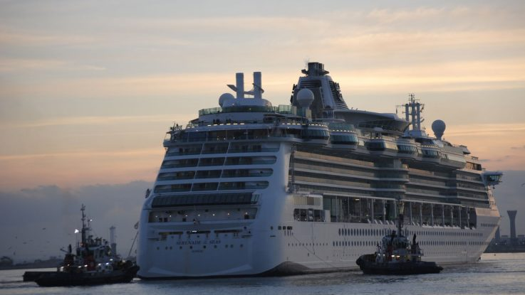 Die Serenade of the Seas. Foto: Royal Caribbean International
