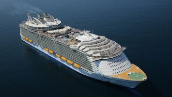Die Harmony of the Seas. Foto: Royal Caribbean International